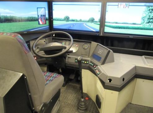 Simulator for bus